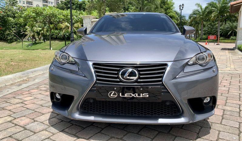 Usado Lexus IS 200T 2016 lleno